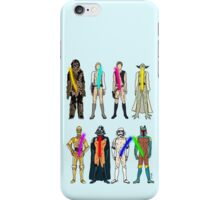 Naughty Lightsabers iPhone Case/Skin