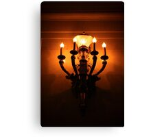 Lit Light Canvas Print
