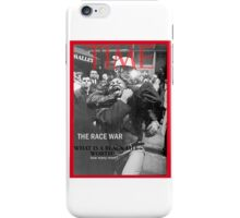 black lives matter movement iPhone Case/Skin