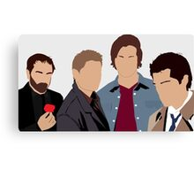 Supernatural Silhouettes  Canvas Print