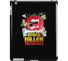 Attack of the Killer Tomatoes iPad Case/Skin