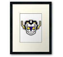 Voltron 3 Framed Print