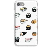 Kawaii sushi iPhone Case/Skin