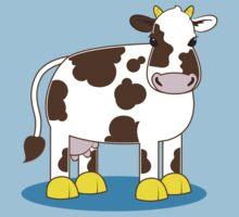 cute little moo cow Kids Tee