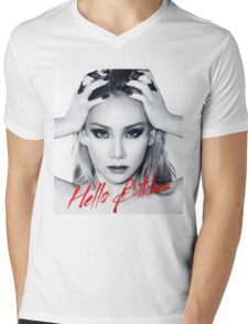 CL: Hello Bitches Mens V-Neck T-Shirt