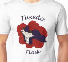 Tuxedo Flask Unisex T-Shirt