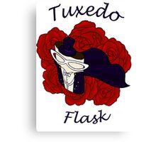 Tuxedo Flask Canvas Print
