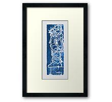 Robotech Mech circa 1985 Framed Print