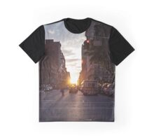 Manhattanhenge Graphic T-Shirt