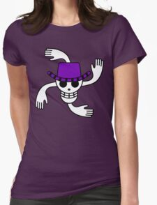 Robin Pirate Flag Womens Fitted T-Shirt