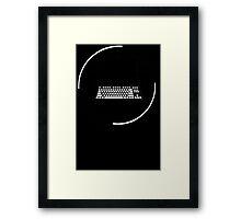 Internet Divergent Framed Print
