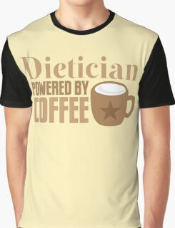 dietician powered by coffee Graphic T-Shirt