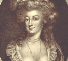 'Marie Antoinette' Sticker