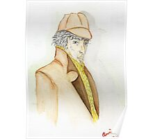 Sherlock Holmes Caricature  Poster