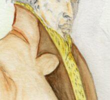 Sherlock Holmes Caricature  Sticker