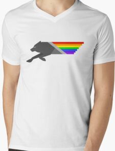 Pride of the Pack Mens V-Neck T-Shirt