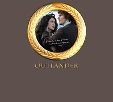 Outlander/Jamie Fraser quote/I swear by my hope of... Unisex T-Shirt