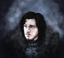 Jon Snow by ChristineLuiten