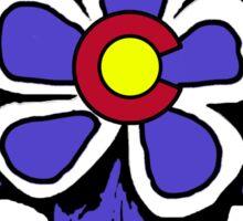 Colorado flag columbine flower Sticker