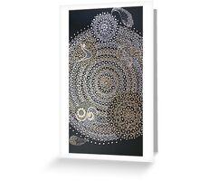 mandala yoga Greeting Card