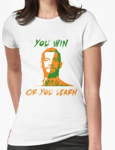 Conor McGregor UFC You Win or You Learn Womens Fitted T-Shirt