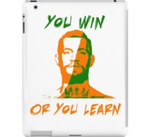 Conor McGregor UFC You Win or You Learn iPad Case/Skin