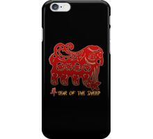 Year of The Sheep Goat Ram iPhone Case/Skin