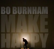 Bo Burnham - Make Happy Stickers Sticker