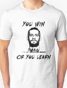 Conor McGregor UFC Black and White T Unisex T-Shirt
