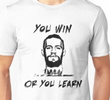 Conor McGregor UFC Black and White T Unisex T-Shirt