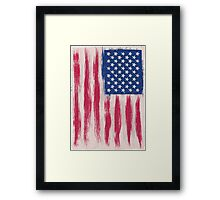 Never to late for a patriot Framed Print