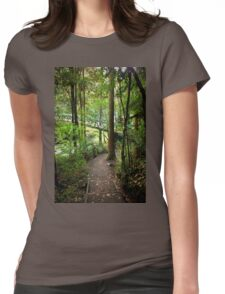Walking track   New Zealand Womens Fitted T-Shirt