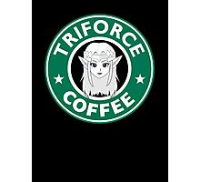 Triforce coffee Photographic Print