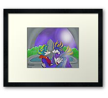 turchese and tonio  Framed Print