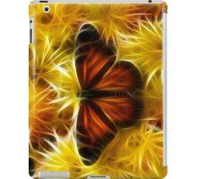Butterfly on Flowers (soft) iPad Case/Skin
