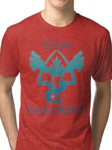 Team Harmony - White  Tri-blend T-Shirt
