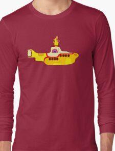 Yellow Sub Long Sleeve T-Shirt