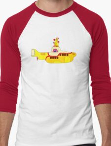 Yellow Sub Men's Baseball ¾ T-Shirt