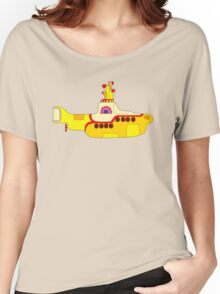 Yellow Sub Women's Relaxed Fit T-Shirt
