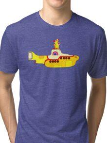 Yellow Sub Tri-blend T-Shirt
