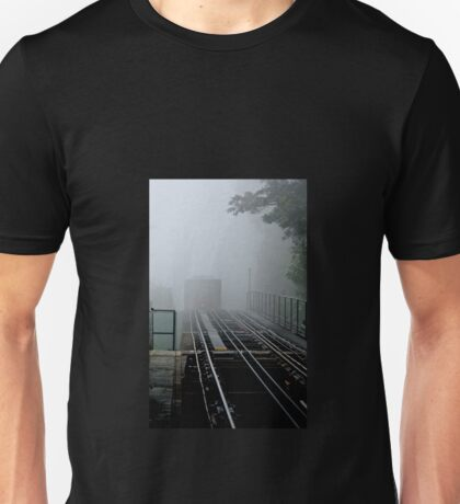 Arriving on Track 1 Unisex T-Shirt