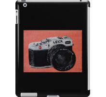 Leica Vintage Film Photography Camera Acrylic Painting iPad Case/Skin