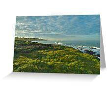 Pacific Coast Sunrise - Cambria, California Greeting Card