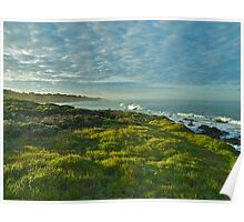 Pacific Coast Sunrise - Cambria, California Poster