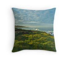 Pacific Coast Sunrise - Cambria, California Throw Pillow