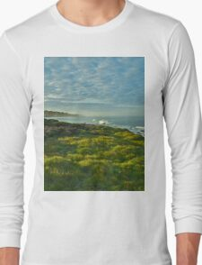 Pacific Coast Sunrise - Cambria, California Long Sleeve T-Shirt