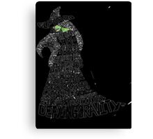 WICKED Musical Elphaba Canvas Print