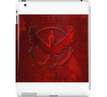 Team Valor Pokemon iPad Case/Skin