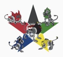 Voltron Lions Kids Clothes