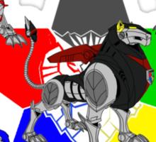 Voltron Lions Sticker